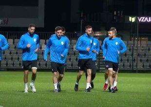 V Kopru se pripravljajo na tekmo z Latvijo in Poljsko