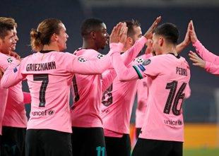 Dembele začel, Messi dokončal Barcino delo v Torinu
