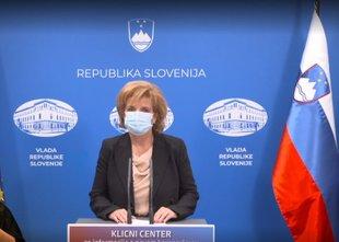 Beovićeva: Po ocenah je aktivno okužen en odstotek prebivalcev