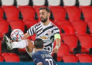 Fernandes zadel s ponovljeno 11-metrovko, United vodi v Parizu