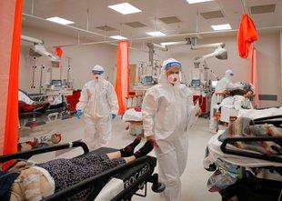 Pretresljivi prizori v romunskih bolnišnicah