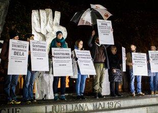 78. petkov protest: v ospredju tokrat socialne stiske