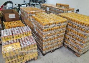 Finančna uprava zasegla več kot 4000 litrov piva