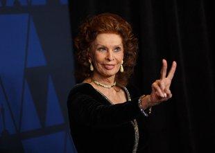 Sophia Loren po desetletju znova pred filmskimi kamerami