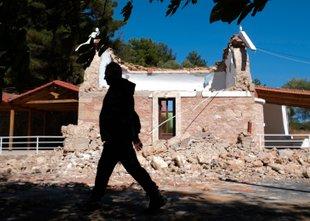 Na Kreti tudi Slovenci: Majale so se luči, v kozarcih se je tresla voda