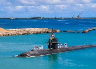 Razburkana sled ameriških jedrskih kitov