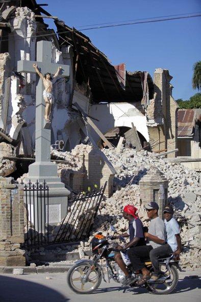 Ko udari rušilni potres ...