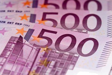 500 evrov