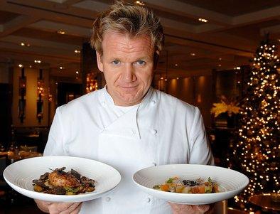 Ramsay je odpustil zaposlene in zaprl vrata restavracij.
