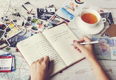 Zapisujete le kratke misli, občutja, tegobe, vprašanja, dvome …