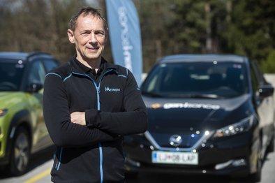 Andrej Pečjak, pionir elektromobilnosti v Sloveniji in direktor Inštituta Metron
