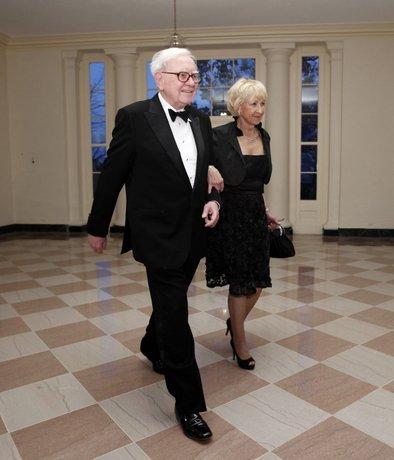 Warren in Astrid Buffett