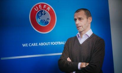 Čeferin ob ustanovitvi superlige: 'Pridružene klube čakajo sankcije'