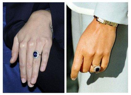 Kate je prstan podedovala od princese Diane.