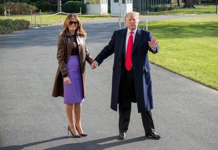 Melania Trump med obiskom Argentine