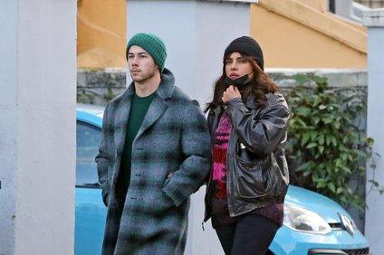 Nick Jonas in Priyanka Chopra Jonas