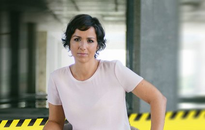 Sara Volčič, novinarka oddaje Svet na Kanalu A