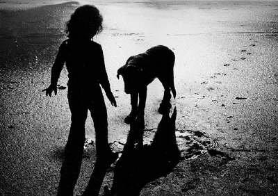 Otrok in pes