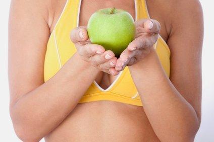 Ne pozabite, jabolko na dan odžene maščobo stran.