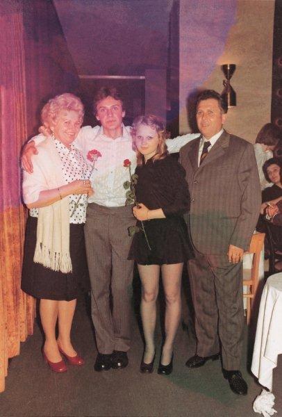 Družina Janković na Jagodinem maturantskem plesu