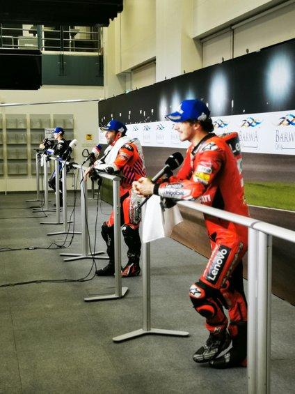 Najboljši trije dirkači dirke v Katarju