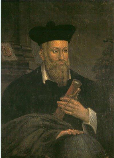 """Francoski """"prerok"""" Nostradamus (16. stoletje)"""