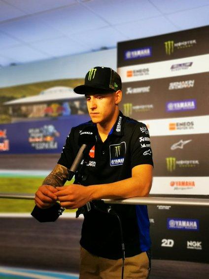 Fabio Quartararo je bil po dirki v Jerezu izjemno razočaran.