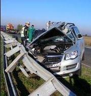 Voznik avtomobila, 32-letni Georgij Georgijevski, je izgubil nadzor nad avtomobilom in trčil v tovornjak.
