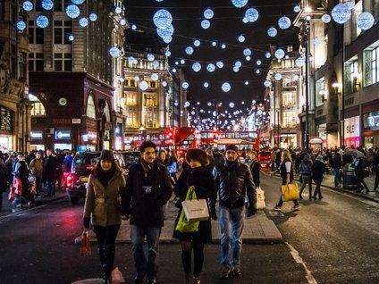London ima v decembru poseben čar.