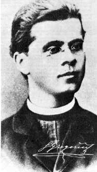 Simon Gregorčič je bil šibkega zdravja.