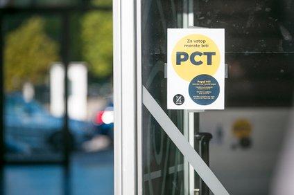 Preverjanje PCT pogoja.