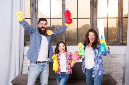 Naj pri jesenskem čiščenju sodeluje vsa družina.