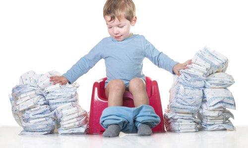 Kako odvajati otroka od pleničk in kdaj je najboljši čas?
