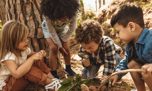 Kako otrokom približati naravo?