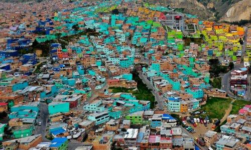 Domovi ljudi v enem izmed najrevnejših mest na svetu