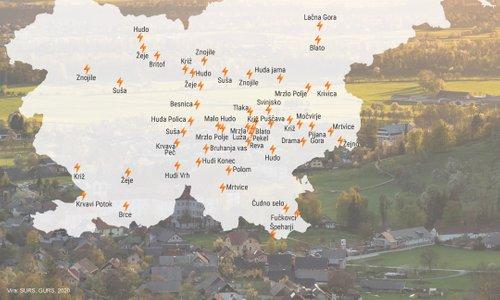 Konj, Srnjak, Račja vas - ste že slišali za te slovenske kraje?