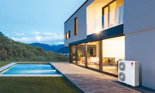 LG-jeve toplotne črpalke za vrhunsko učinkovitost gretja z obnovljivim virom ...