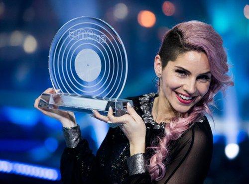 Lea Sirk, zmagovalka Eme 2018
