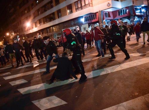 Spopadi v Bilbau