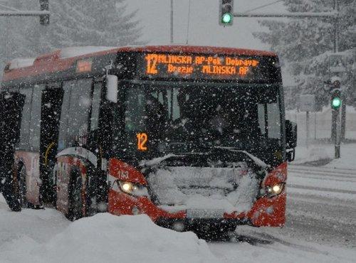 Sneženje v Mariboru