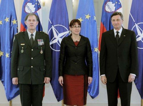 Andrej Osterman, Andreja Katič in Borut Pahor