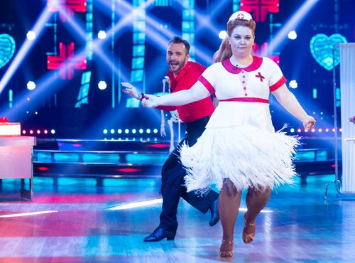 Zvezde plešejo, Klara Lorger in Jernej Brenholc, 3. oddaja