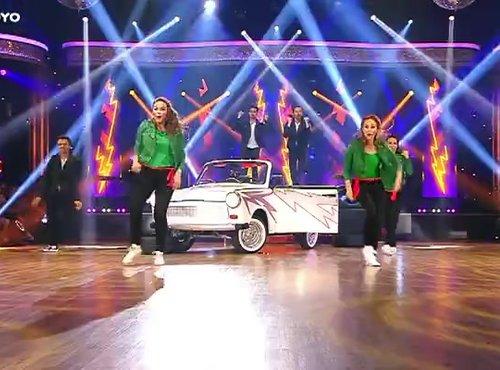 skupinski ples, Rebeka, Natalija, Gašper