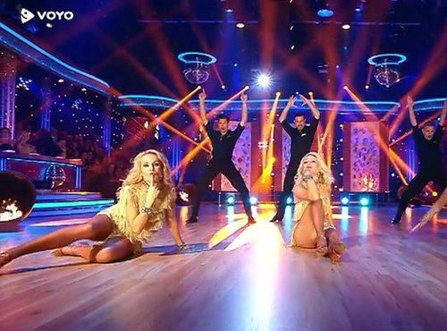 skupinski ples Sanja, Ivica, Natalija