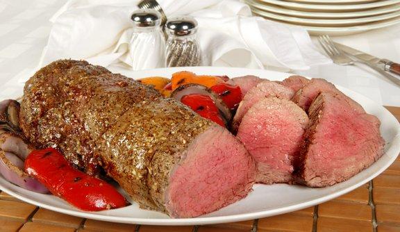 Chateaubriand: slastno zapečeno goveje meso.