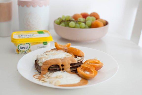 Ameriške palačinke iz ajdove moke so odlična ideja za hiter, zdrav in okusen zajtrk.