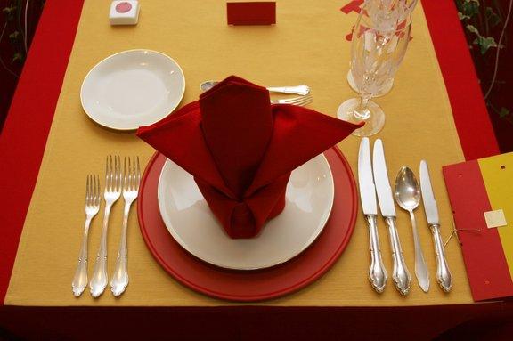 Lepo pripravljena miza - Okusno je
