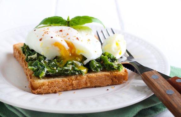 Uživajte zdrav zajtrk in zdravo hrano.