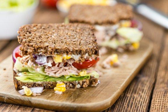 Tudi sendvič je lahko zdrav in polnovreden obrok.