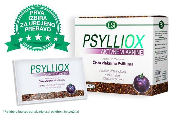 Psylliox aktivne vlaknine so naravno prehransko dopolnilo, ki ne povzroča odvisnosti. Njihovo delovanje ni agresivno kot sintetična odvajala, ampak prebavo spodbudijo po naravni poti.